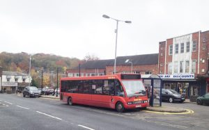 Bus service reduced