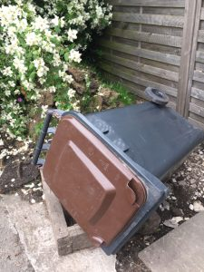 brown bin reduced size